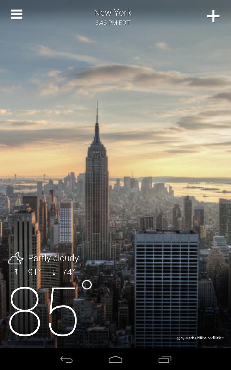 Yahoo Weather screenshot #11