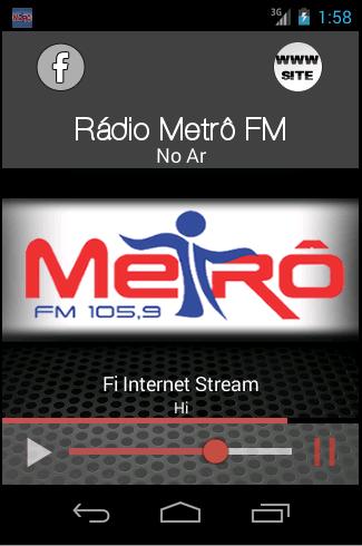 RÁDIO 105 9 METRÔ FM