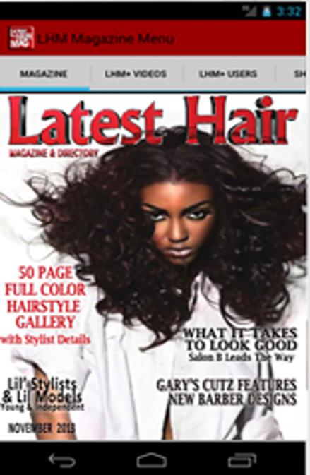 Latest Hair Magazine - LHM+- screenshot