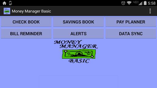 Money Manager Basic Unlocker