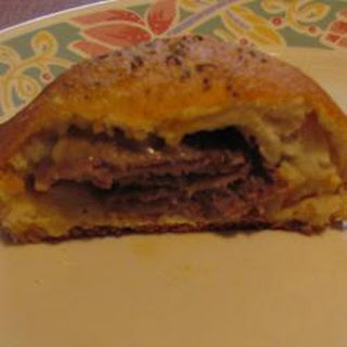 Roast Beef and Cheese Roll Ups Recipe