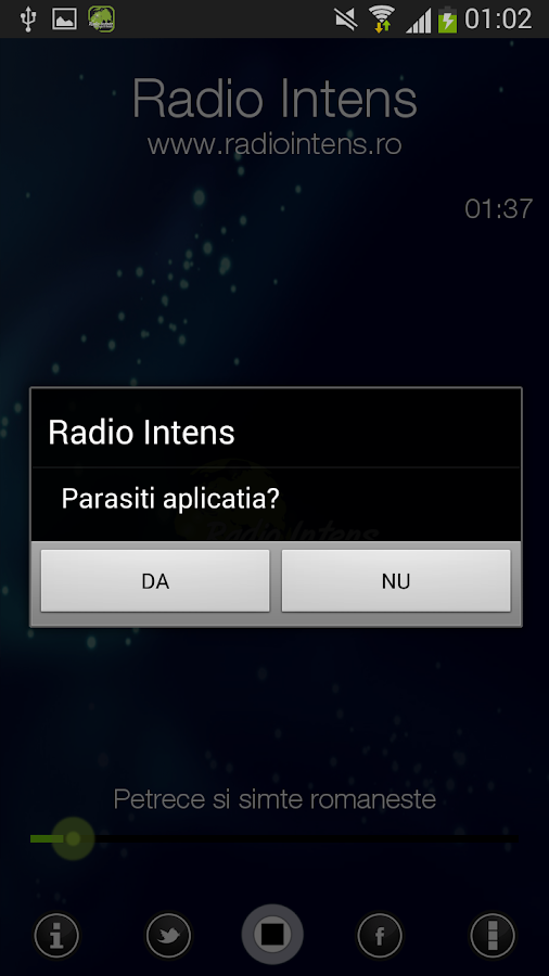 Radio Intens Romania- screenshot