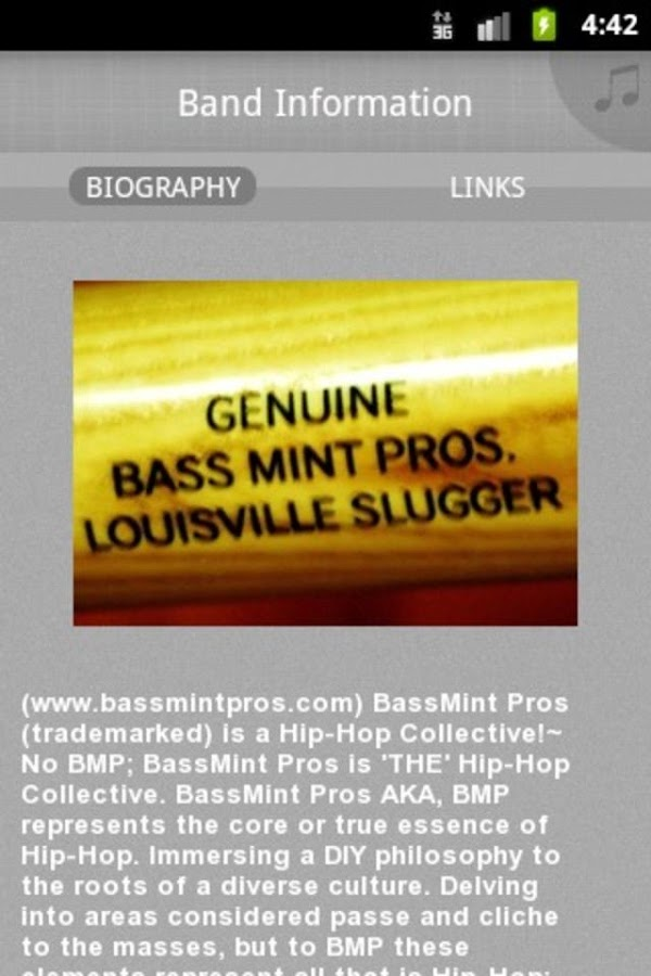 BassMint Pros AKA BMP!~ (TM) - screenshot