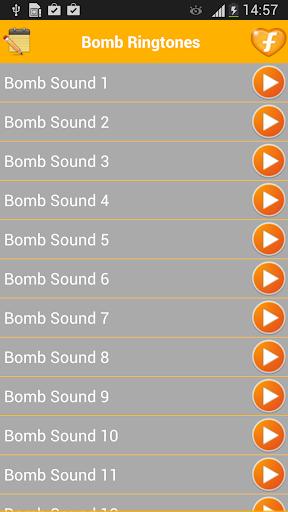 Bomb Sounds Blast Ringtones