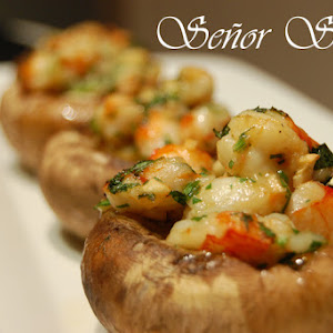 Shrimp-stuffed Mushrooms