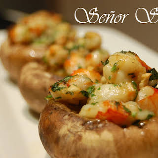 Shrimp-stuffed Mushrooms.