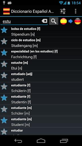 Spanish German Dictionary