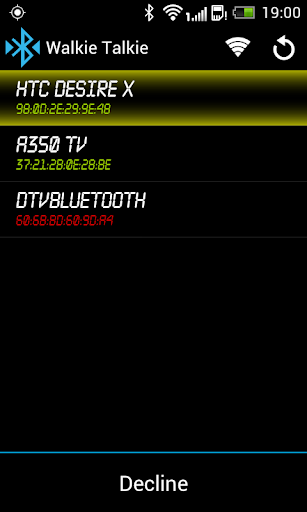 【免費通訊App】Bluetooth Walkie Talkie-APP點子