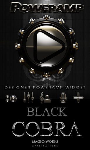 Poweramp Widget Cobra