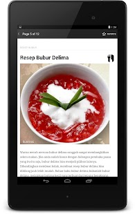 Resep Bubur screenshot