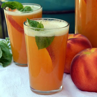 Sparkling Peach Punch.