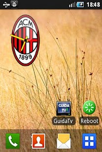 AC Milan Clock - screenshot thumbnail