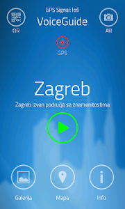 VoiceGuide Zagreb HR screenshot 0
