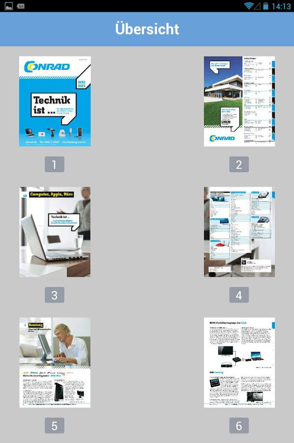 Kataloge App - KaufNavigator - screenshot