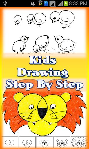 Kids Drawing Step By Step