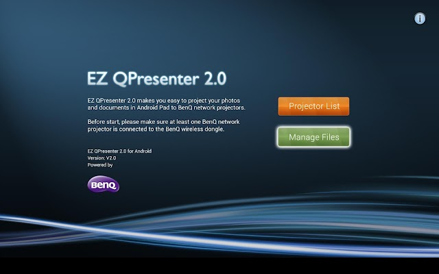 BenQ EZ Qpresenter 2.0 - screenshot