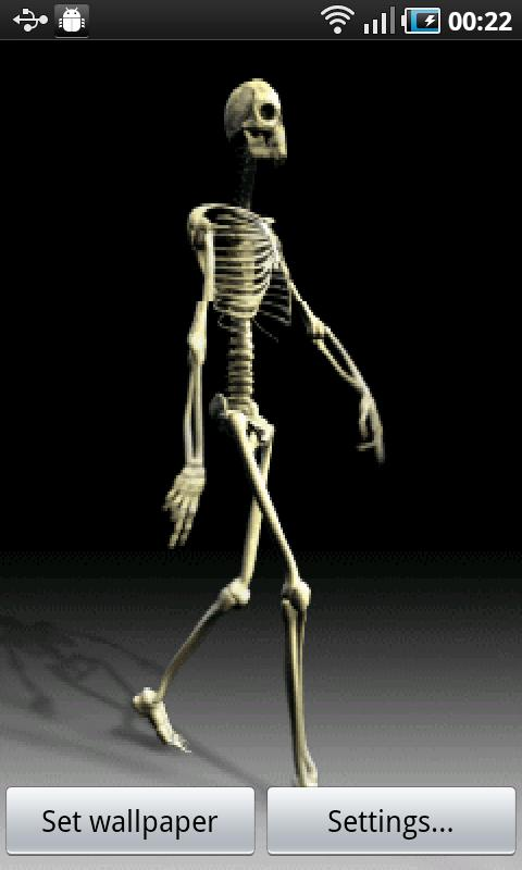 Cool Skeleton - screenshot