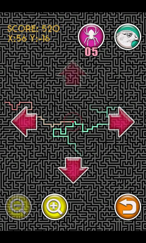 Huge Maze- screenshot