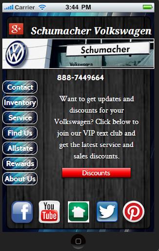 Schumacher Volkswagen
