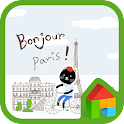 Bonjour Paris dodol theme icon
