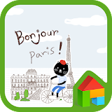 Download Bonjour Paris dodol theme latest version