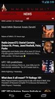 Screenshot of MMA Summit: UFC & MMA News