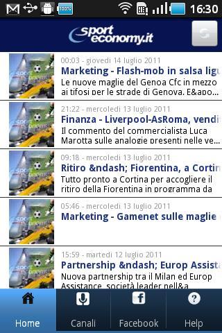 SportEconomy.it- screenshot