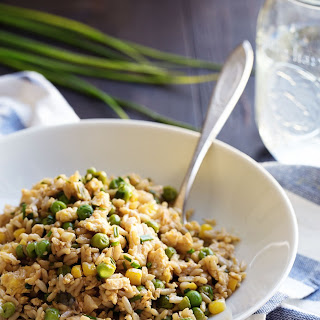 The Best 10 Minute Veggie Fried Rice