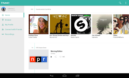 TuneIn Radio Pro Screenshot 5