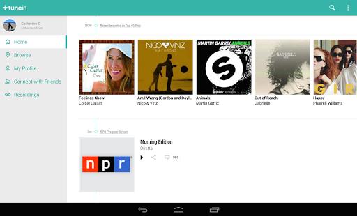 TuneIn Radio Pro - Live Radio- screenshot thumbnail