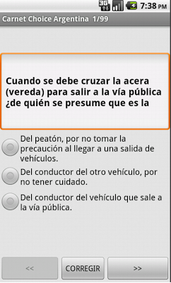 carnet argentina - screenshot
