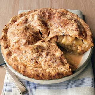 Cheddar-Crusted Apple Pie.