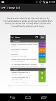 Screenshot of Public Transport Victoria app
