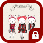Shopper Holic cats(red check) icon