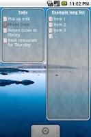 Screenshot of To-Do List Widget