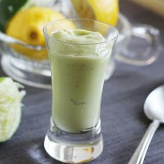 Blender Key Lime Pudding