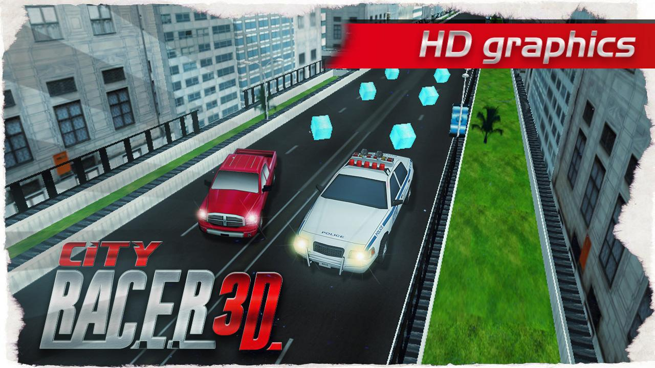 CITY RACER 3D- screenshot