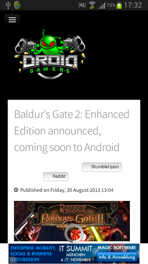 News on Android - screenshot