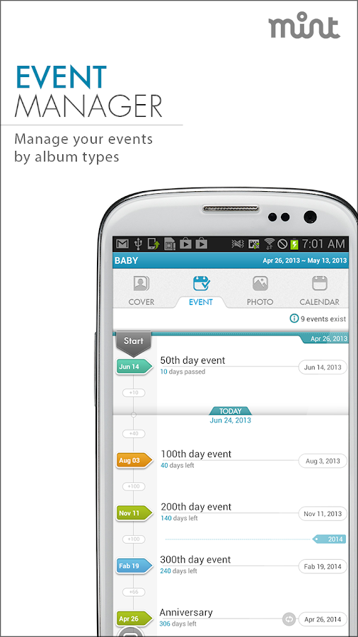 MINT ALBUM:Event+Photo Manager- screenshot
