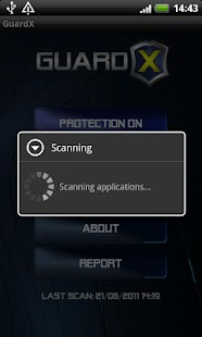 GuardX Antivirus - screenshot thumbnail