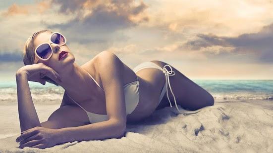 Beauty Models Wallpaper HD - náhled