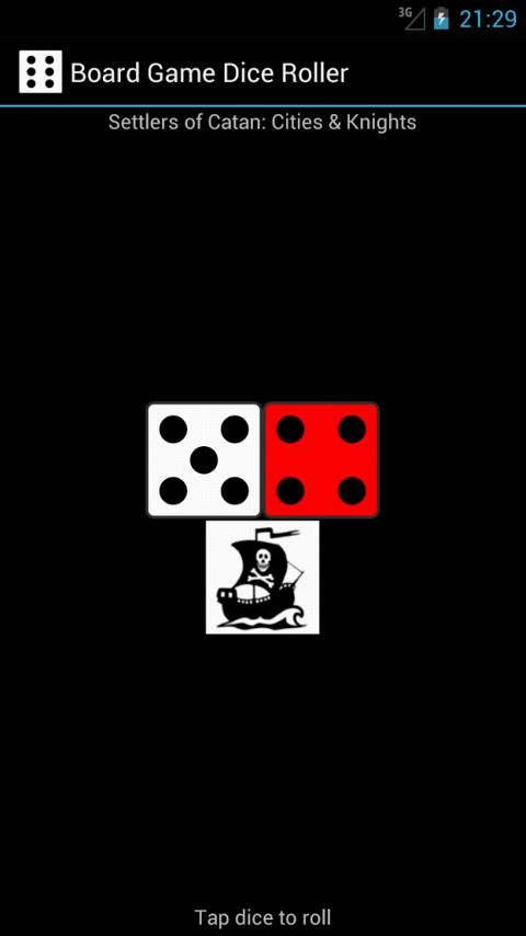 Board Game Dice Roller - screenshot