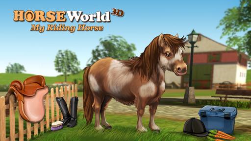 HorseWorld 3D: My Riding Horse v1.9 (Mod Money/Unlock)
