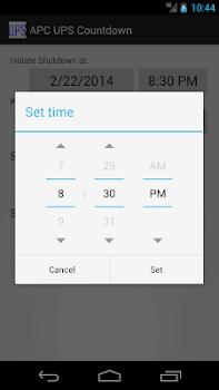 APC UPS Countdown