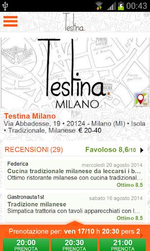 Testina Milano