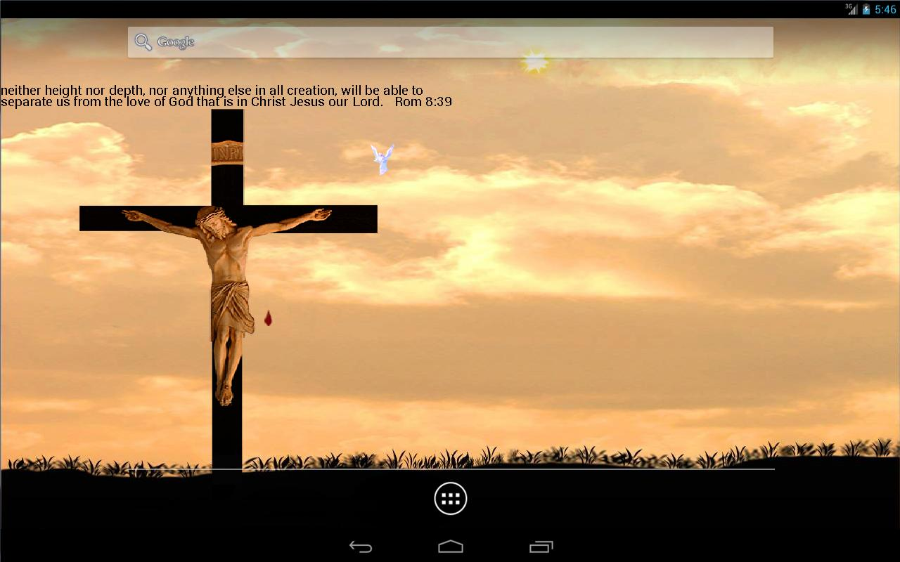 jesus on cross lwp free android apps on google play