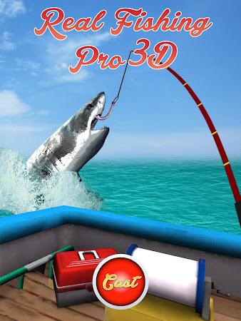 Real Fishing Pro 3D 1.3.2 screenshot 638742