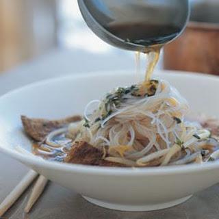 Vietnamese Beef Noodle Soup.