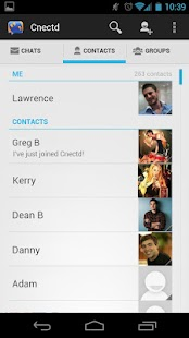 Cnectd Messenger - Chat & Text- screenshot thumbnail