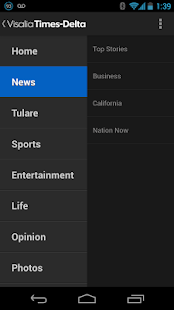 Visalia Times Delta - screenshot thumbnail